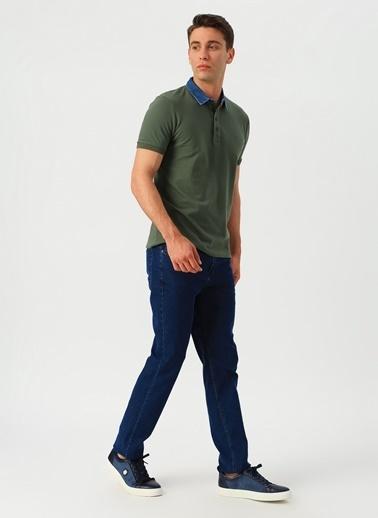 Koton Koton Mark İndigo Denim Pantolon İndigo